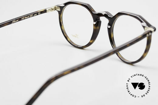 Lunor A5 237 Classic Timeless Panto Frame, the demo lenses can be replaced with optical (sun) lenses, Made for Men and Women