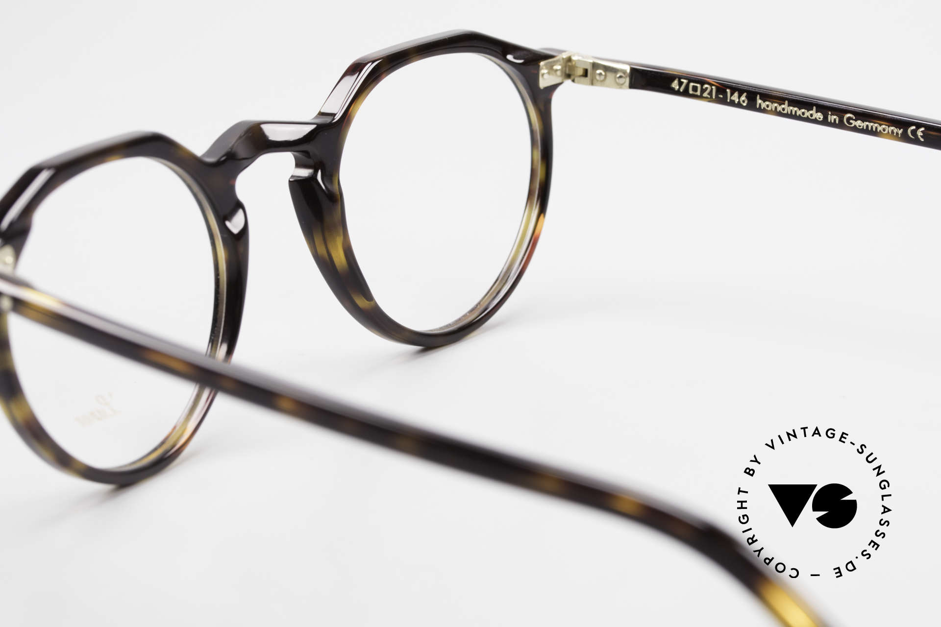 Lunor A5 237 Classic Timeless Panto Frame, Size: medium, Made for Men and Women