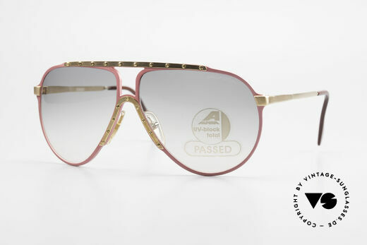 Alpina M1 Iconic 80s Shades Limited Pink Details