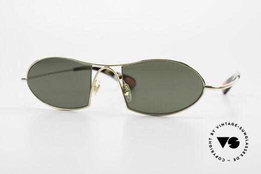 Bugatti 345 Odotype Vintage Designer Sunglasses Details