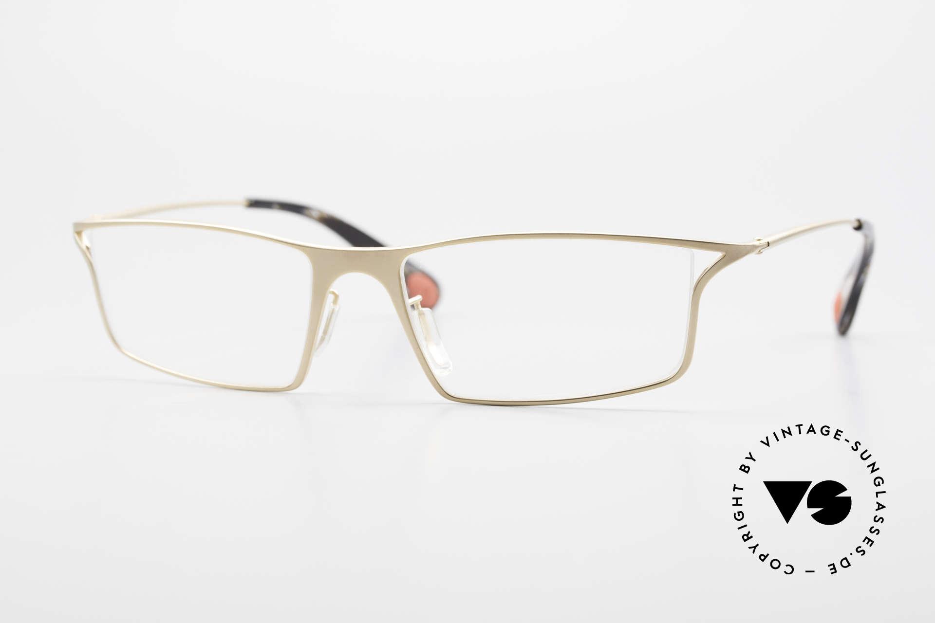 Bugatti 353 Odotype Men's Luxury Eyeglass Frame, legendary Odotype series for Bugatti fanciers, Made for Men