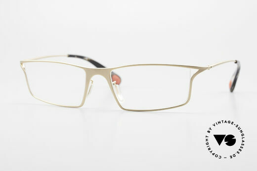 Bugatti 353 Odotype Men's Luxury Eyeglass Frame Details