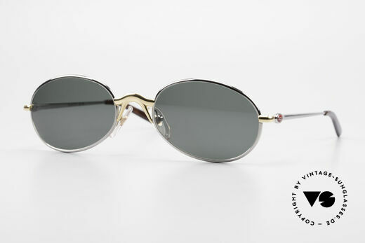 Bugatti 22126 Rare Oval 90's Vintage Shades Details