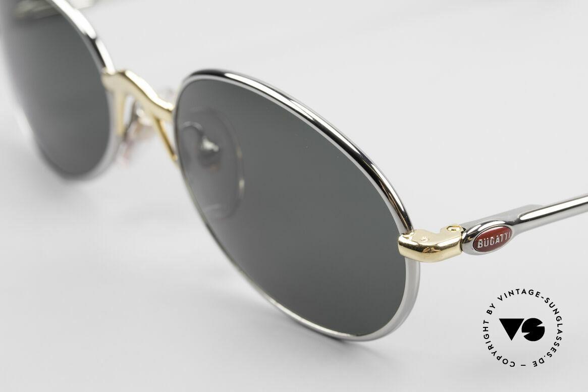 Bugatti 22126 Rare Oval 90's Vintage Shades, unworn (like all our rare vintage 90's Bugatti eyewear), Made for Men