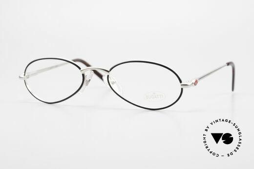 Bugatti 22431 Small 90's Vintage Eyeglasses Details