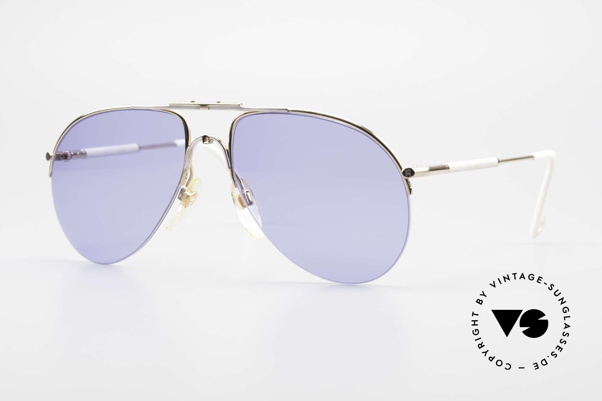 Aigner EA2 Rare 80's Vintage Sunglasses, Etienne Aigner VINTAGE designer sunglasses of the 80's, Made for Men and Women
