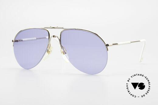 Aigner EA2 Rare 80's Vintage Sunglasses Details