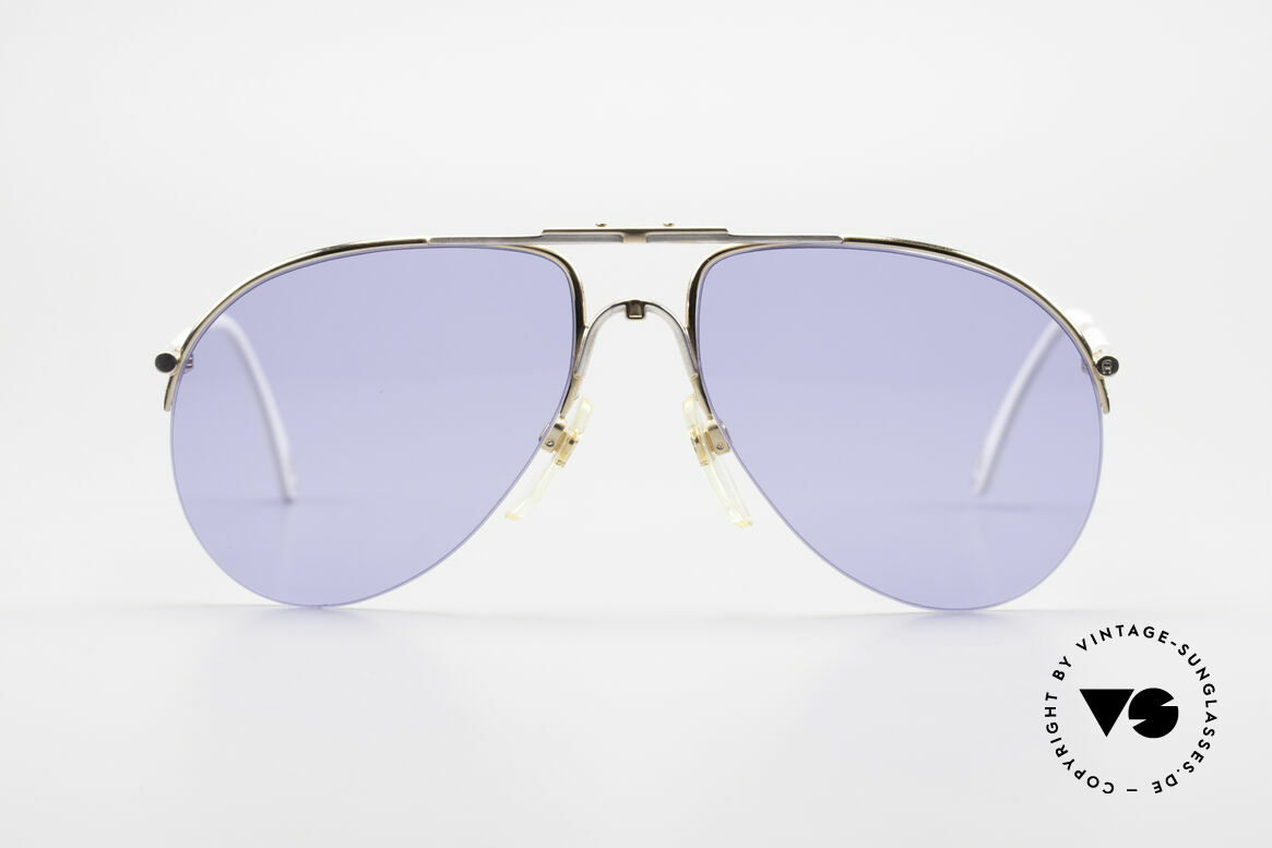 Aigner EA2 Rare 80's Vintage Sunglasses, noble modified 'aviator design' & elegant frame coloring, Made for Men and Women