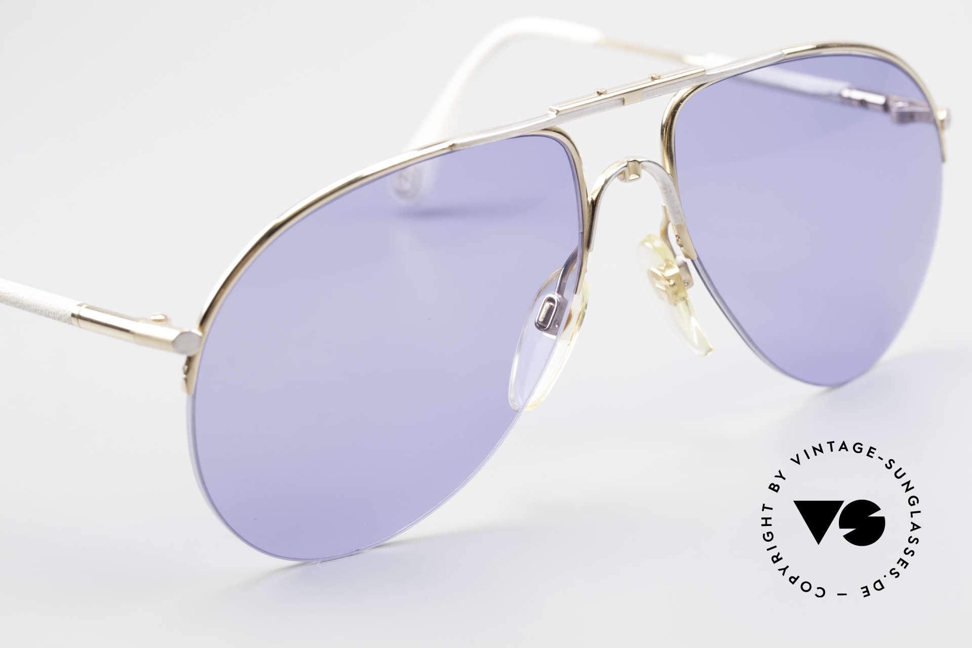 Aigner EA2 Rare 80's Vintage Sunglasses, unworn (like all our rare 80's Aigner sunglasses) + pouch, Made for Men and Women