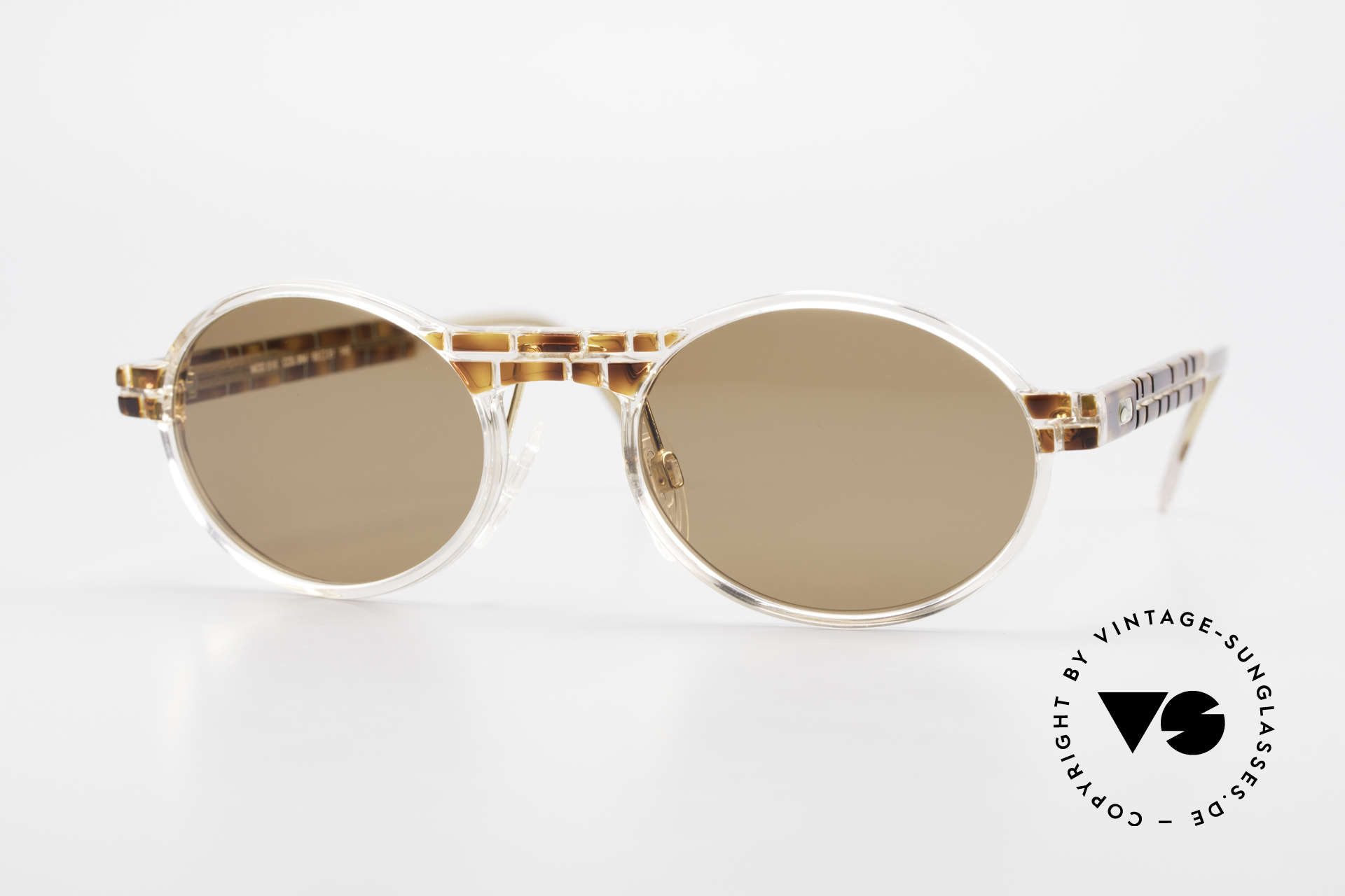 Cazal 510 Limited Oval Vintage Cazal, rare Cazal vintage glasses of the Crystal 500's Series, Made for Men and Women