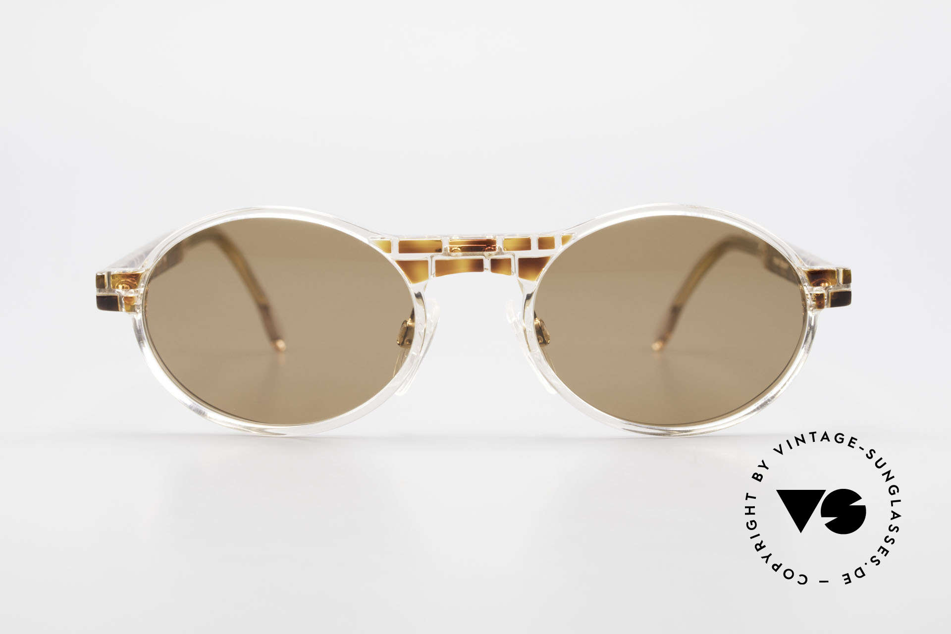 Cazal 510 Limited Oval Vintage Cazal, made in the 90's as limited-lot production in Germany, Made for Men and Women
