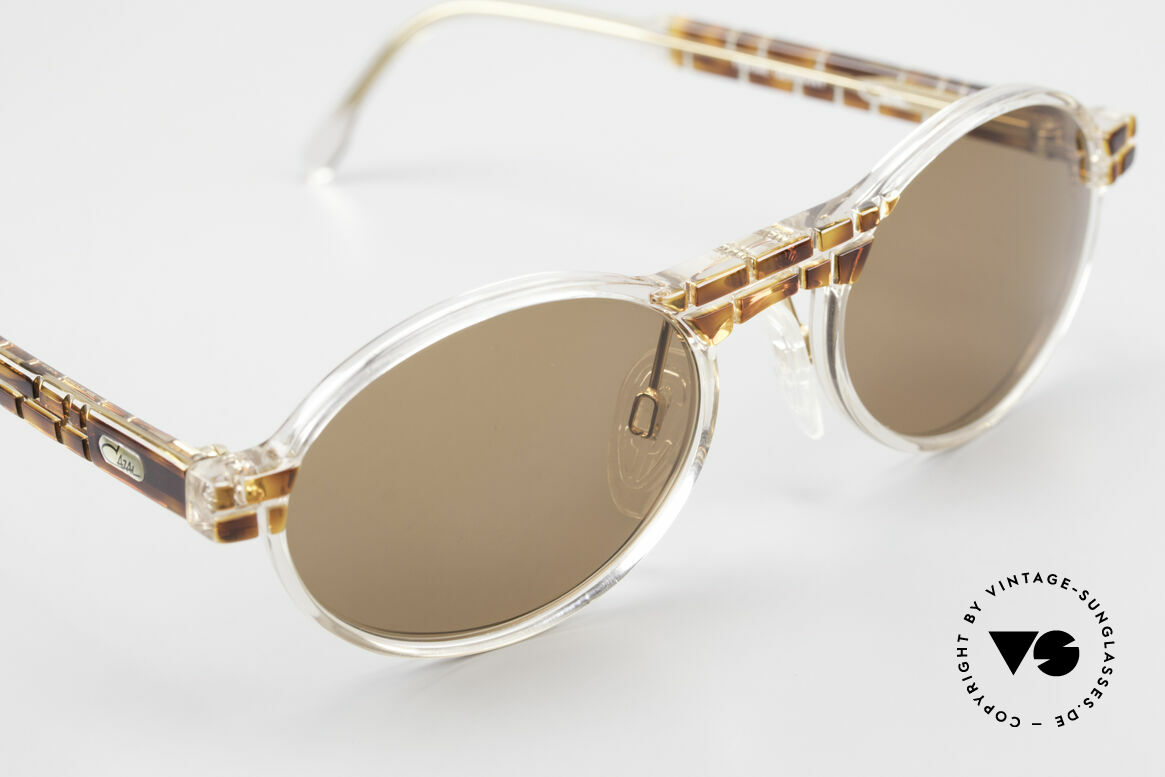 Cazal 510 Limited Oval Vintage Cazal, unworn (like all our rare vintage Cazal Crystal frames), Made for Men and Women