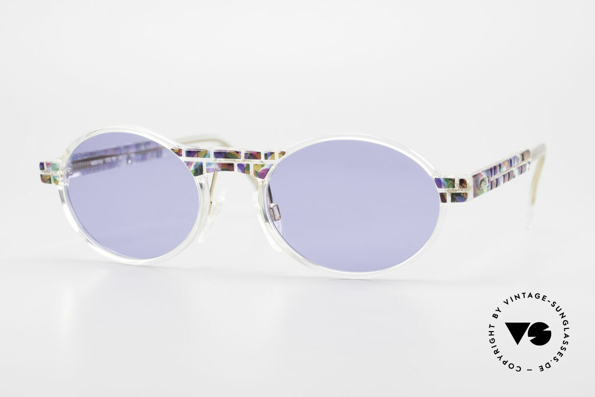 Cazal 510 Oval Vintage Cazal Limited, rare Cazal vintage glasses of the Crystal 500's Series, Made for Men and Women