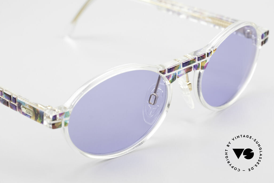 Cazal 510 Oval Vintage Cazal Limited, unworn (like all our rare vintage Cazal Crystal frames), Made for Men and Women