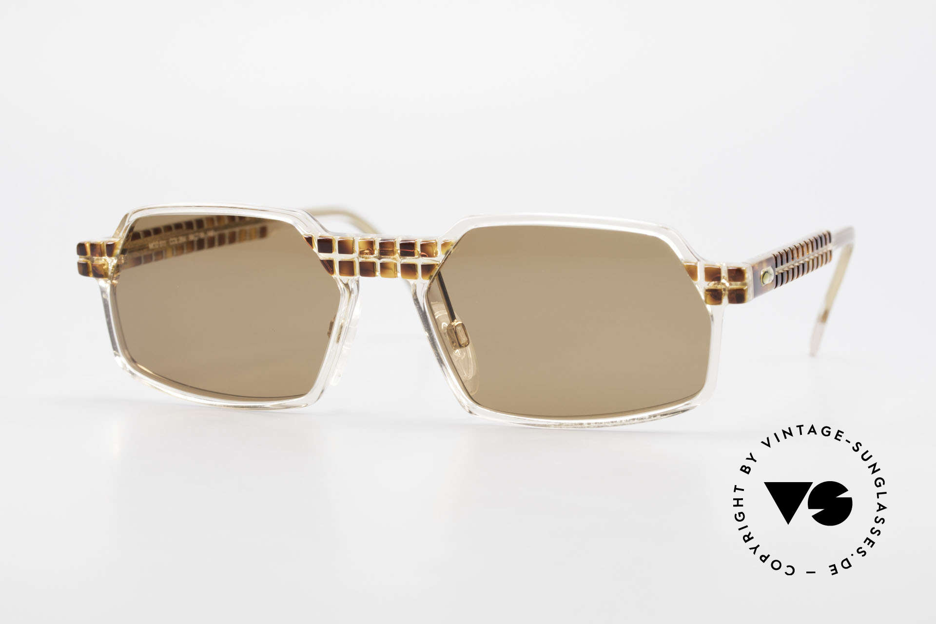 Cazal 511 Limited 90's Cazal Sunglasses, rare Cazal vintage glasses of the Crystal 500's Series, Made for Men and Women