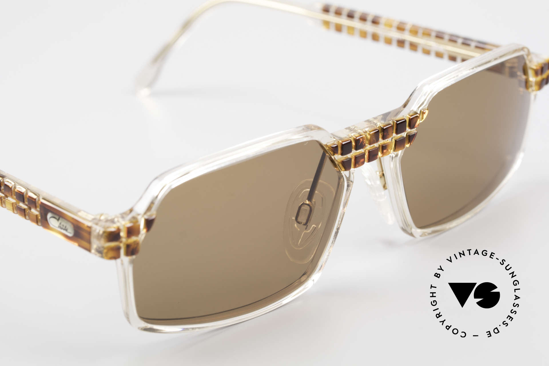 Cazal 511 Limited 90's Cazal Sunglasses, unworn (like all our rare vintage Cazal Crystal frames), Made for Men and Women