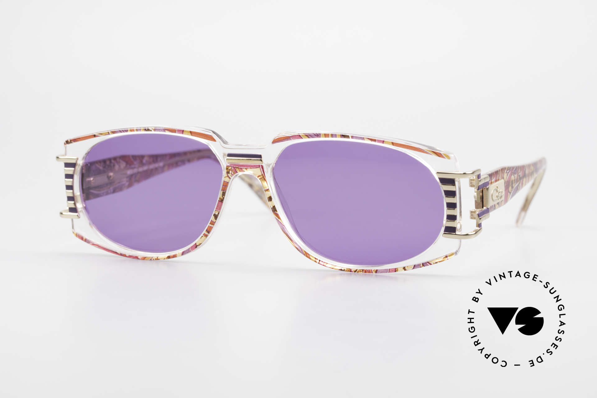 Cazal 372 Rare HipHop Sunglasses 90's, MOD372: ultra rare Cazal vintage model from the mid 90's, Made for Men and Women