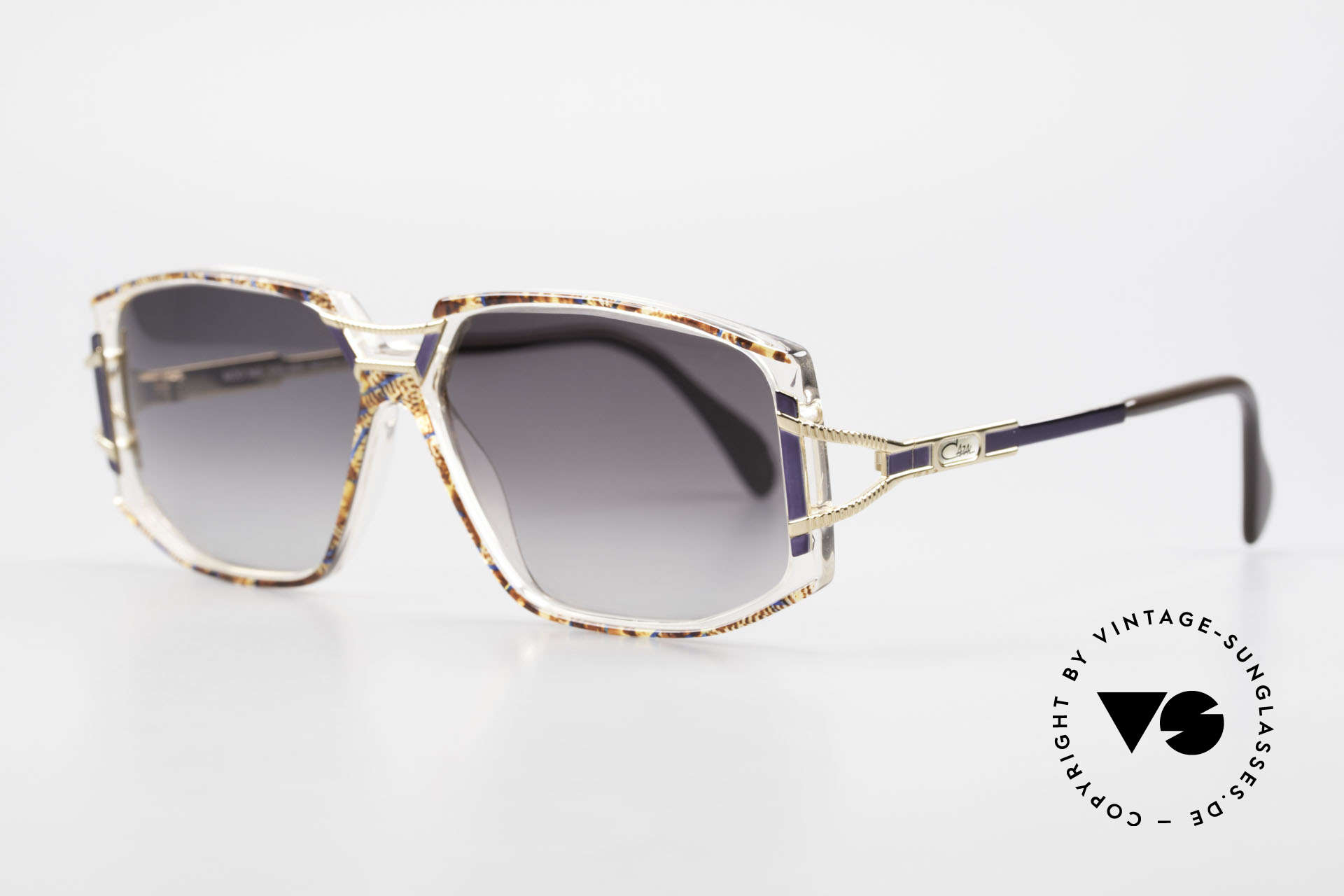 Cazal 362 Original 90's Cazal Sunglasses, glamorous combination of materials and colors; fancy!, Made for Women