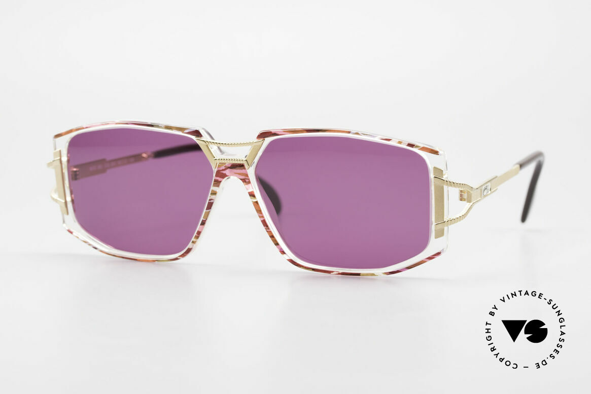 Cazal 362 90's Sunglasses Ladies Cazal, adorned Cazal sunglasses from the early / mid 1990's, Made for Women