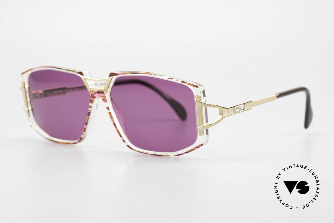 Cazal 362 90's Sunglasses Ladies Cazal, glamorous combination of materials and colors; fancy!, Made for Women