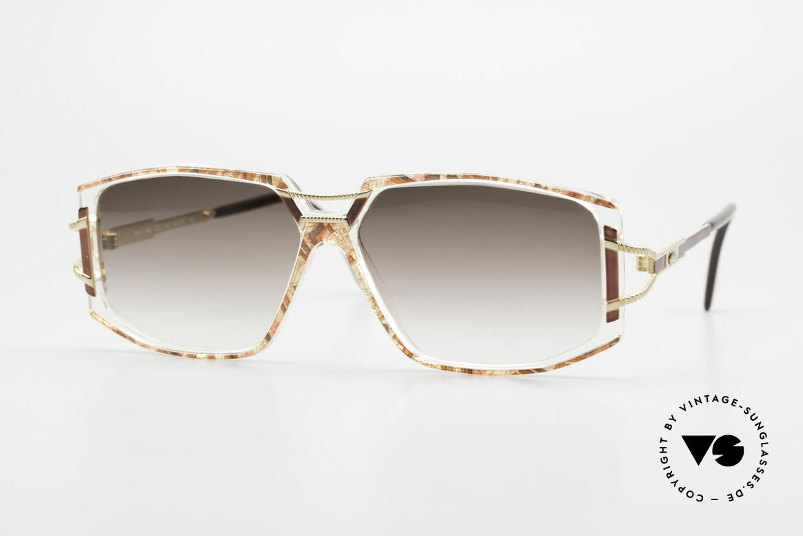 Cazal 362 Ladies Sunglasses 90's Cazal, adorned Cazal sunglasses from the early / mid 1990's, Made for Women