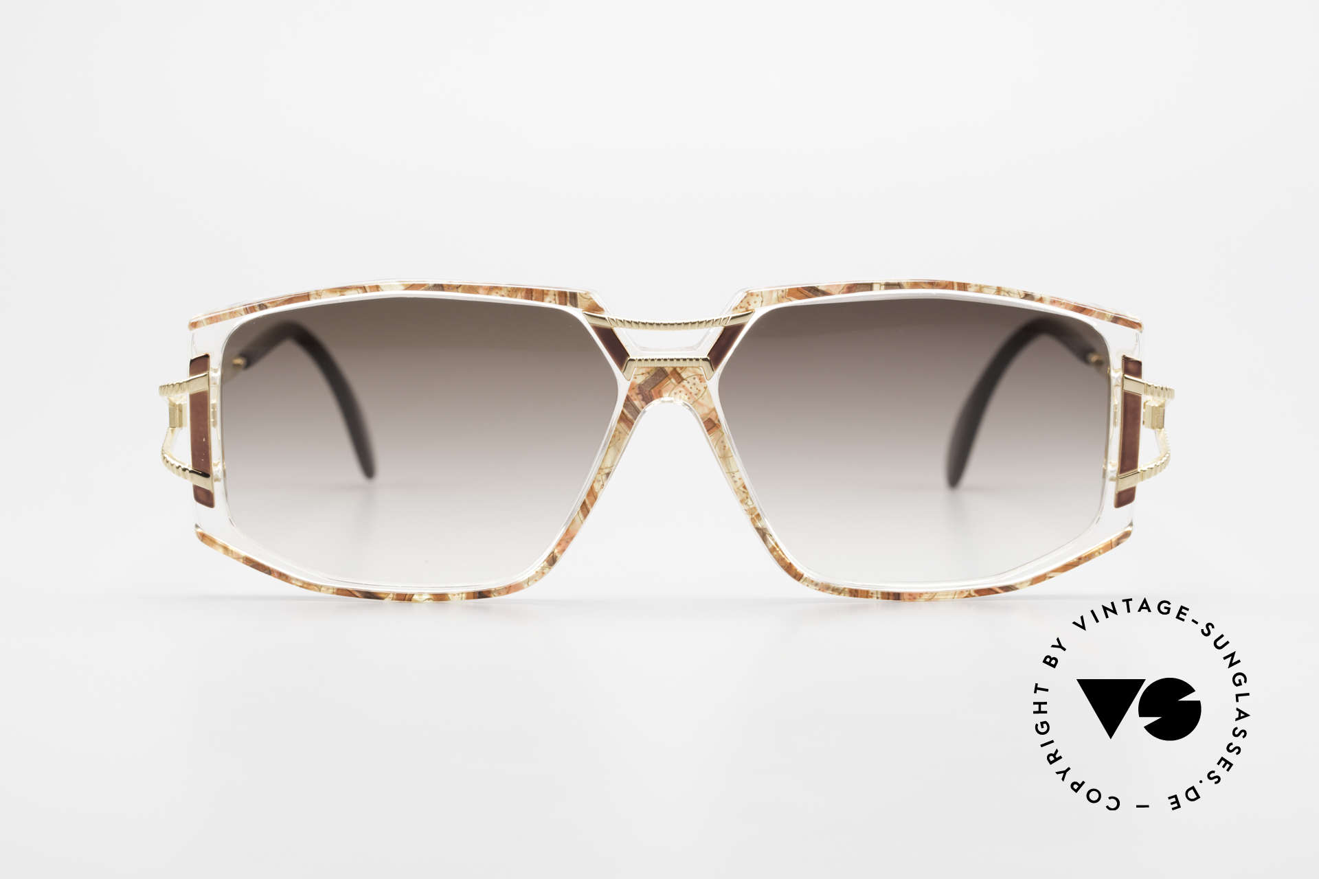 Cazal 362 Ladies Sunglasses 90's Cazal, exciting ornamental piece on bridge and temple hinges, Made for Women