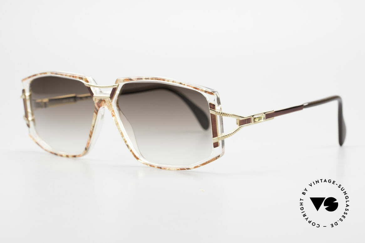 Cazal 362 Ladies Sunglasses 90's Cazal, glamorous combination of materials and colors; fancy!, Made for Women