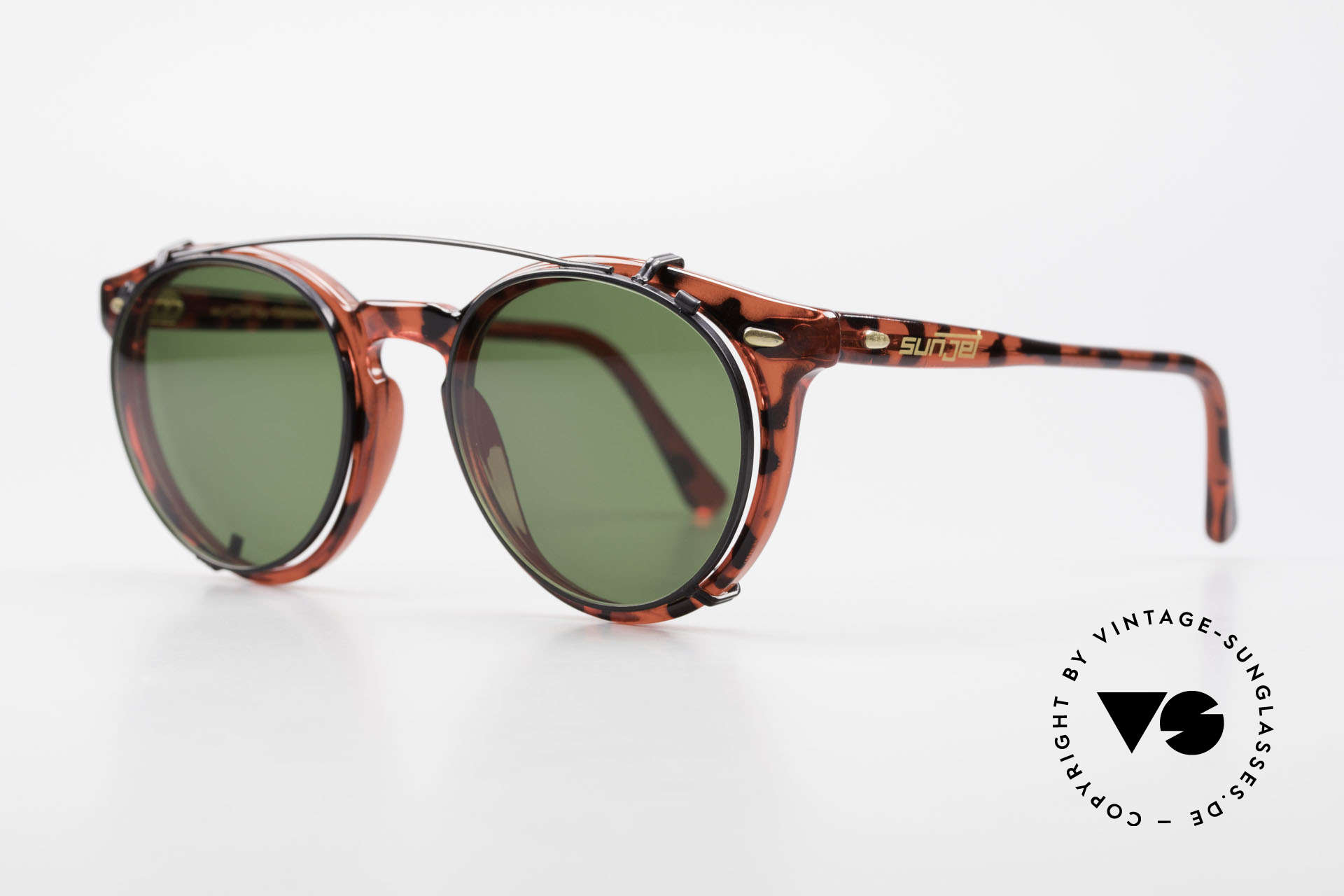 Carrera 5256 Clip Vintage Panto Frame Clip On, inspired by the old 60's 'Tart Optical Arnel' frames, Made for Men and Women