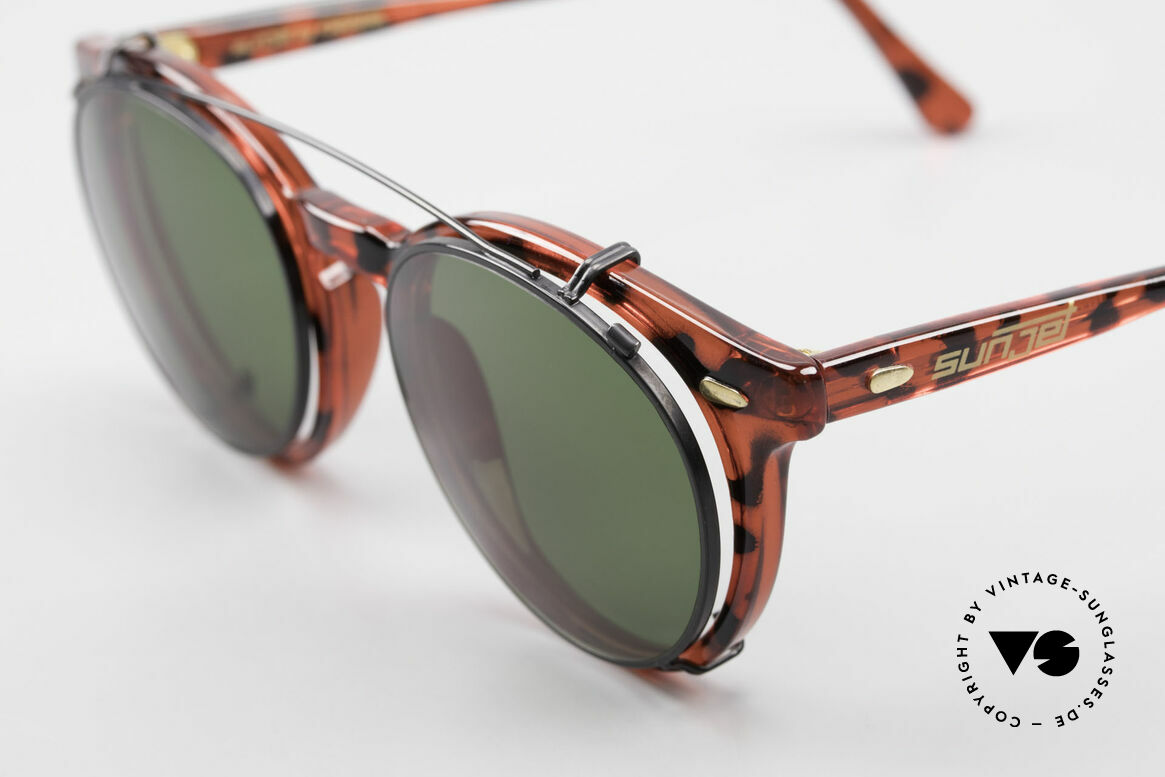 Carrera 5256 Clip Vintage Panto Frame Clip On, the actor Johnny Depp made this panto style popular, Made for Men and Women