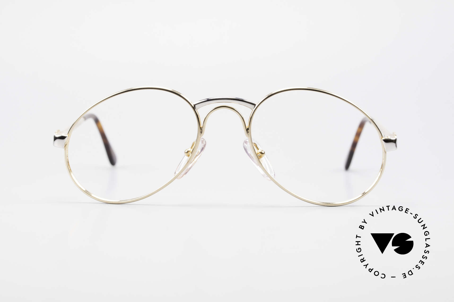 Bugatti 03308 Men's 80's Glasses With Clip On, Size: medium, Made for Men