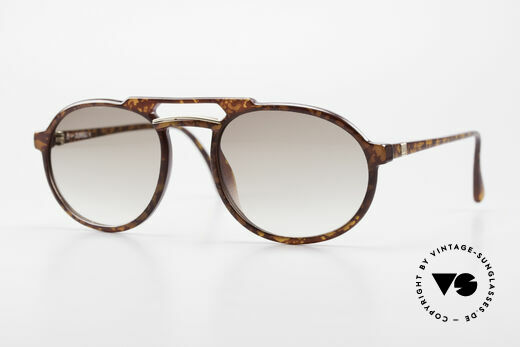 Dunhill 6114 Oval Round Vintage Sunglasses Details