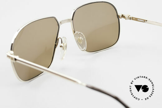 Dunhill 6123 Gold Plated Gentlemen's Frame, sun lenses (100% UV) can be replaced with prescriptions, Made for Men