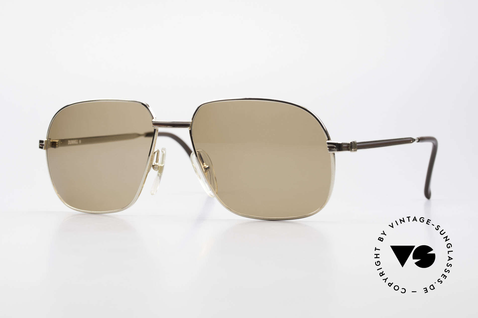 Dunhill 6123 Gold Plated Gentlemen's Frame, true masterpiece of quality, luxury lifestyle & design, Made for Men