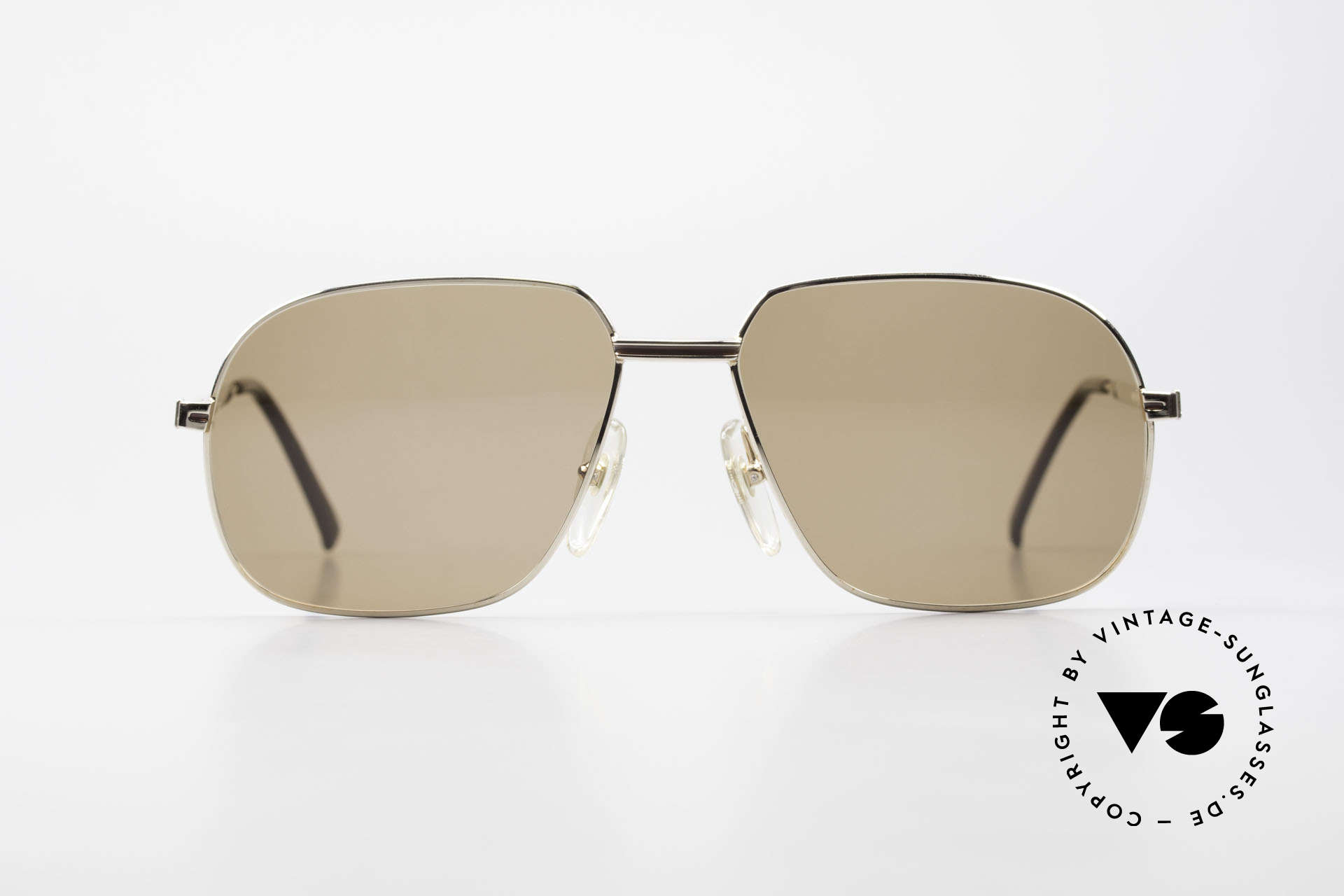 Dunhill 6123 Gold Plated Gentlemen's Frame, noble DUNHILL vintage 80's sunglasses for gentlemen, Made for Men