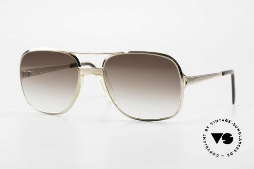 Metzler 0772 80's Old School Sunglasses Details