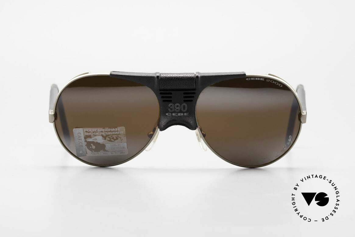 Cebe 390 Walter Cecchinel Sports Shades, engineered for the French alpinist Mr. Walter Cecchinel, Made for Men and Women