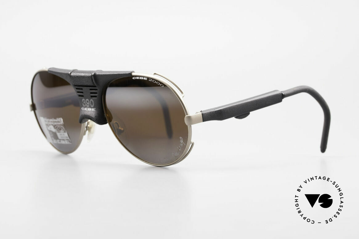 Cebe 390 Walter Cecchinel Sports Shades, impact resistant lenses for extreme sun intensity; 100%, Made for Men and Women