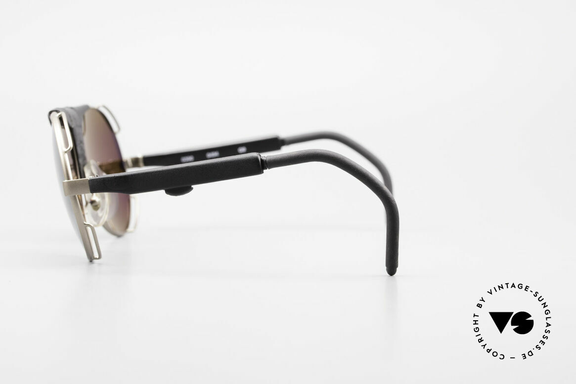 Cebe 390 Walter Cecchinel Sports Shades, adjustable temples length & Polycarbonate Shock Lenses, Made for Men and Women