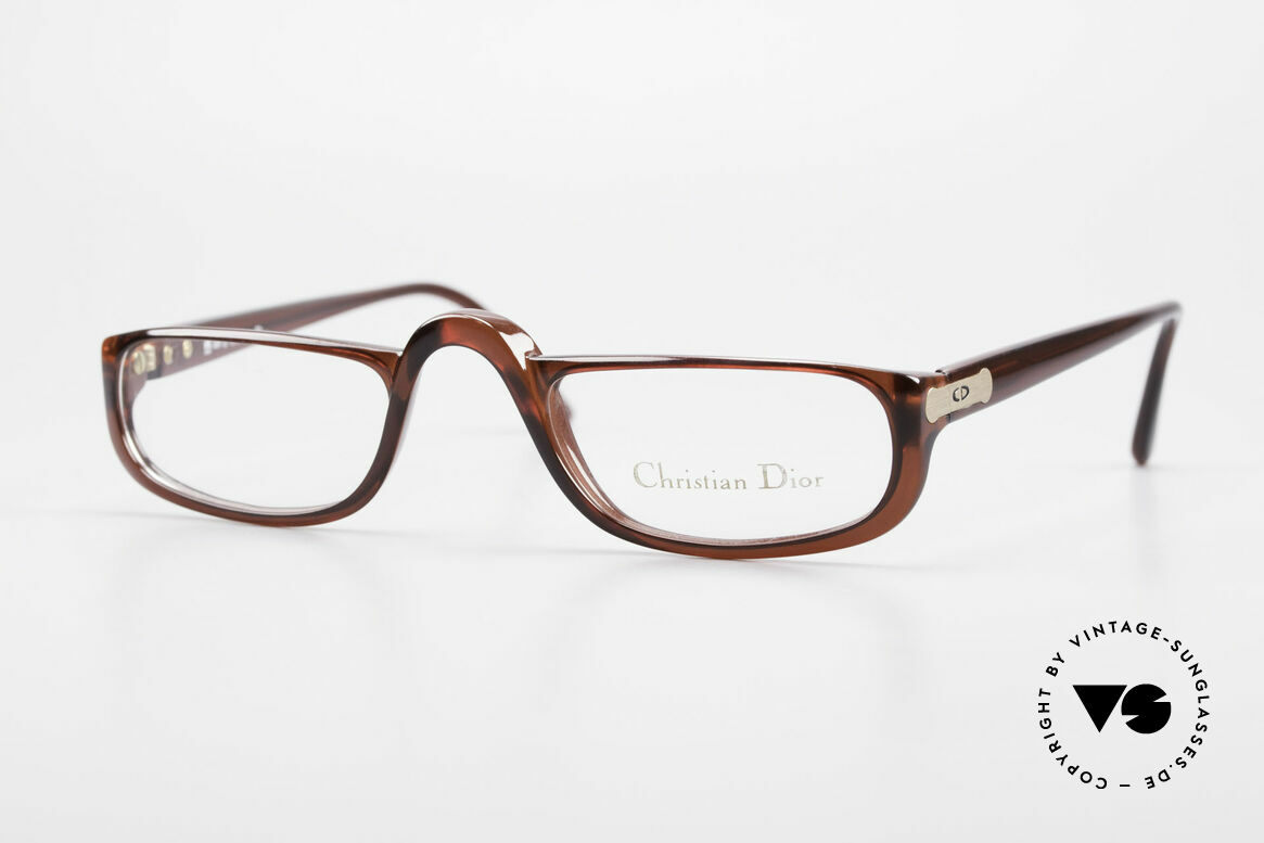 Christian Dior 2075 Reading Glasses Large Optyl, vintage DIOR Monsieur reading eyeglasses from 1985, Made for Men and Women