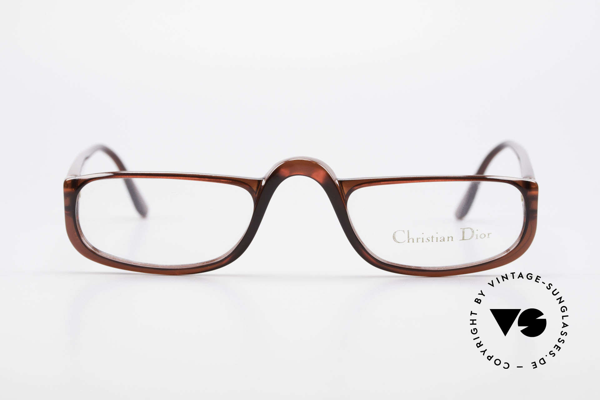 Christian Dior 2075 Reading Glasses Large Optyl, lightweight half-frame design; ergonomically correct, Made for Men and Women