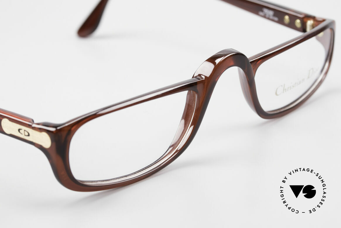 Christian Dior 2075 Reading Glasses Large Optyl, unique frame pattern / coloring; size 52-24 (L size), Made for Men and Women