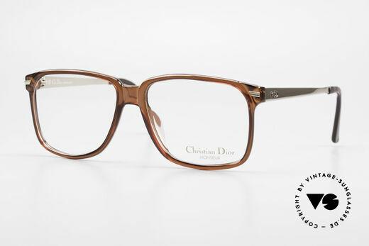 Christian Dior 2460 80's Frame Monsieur Series Details