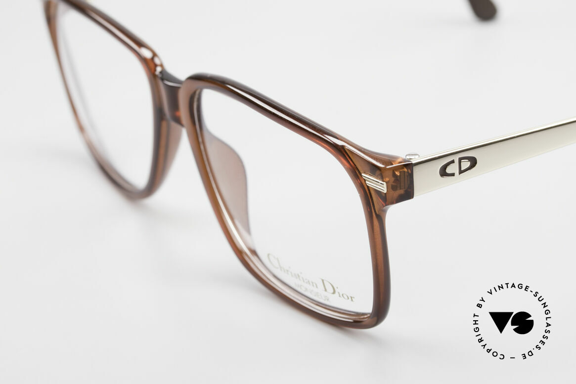 Christian Dior 2460 80's Frame Monsieur Series, perfect fit and very pleasant to wear; incl. case, Made for Men