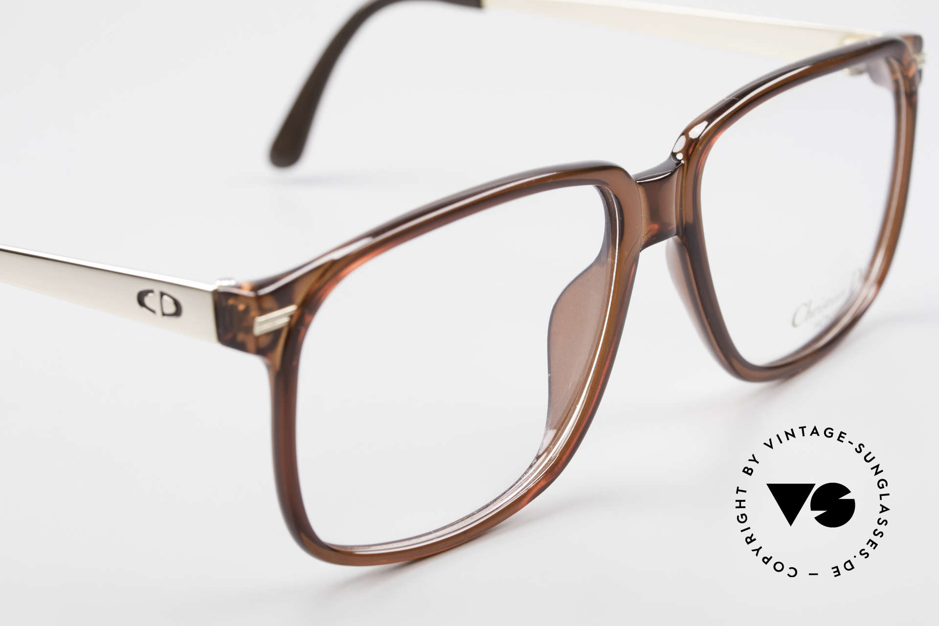 Christian Dior 2460 80's Frame Monsieur Series, unworn (like all our vintage eyewear by C. Dior), Made for Men