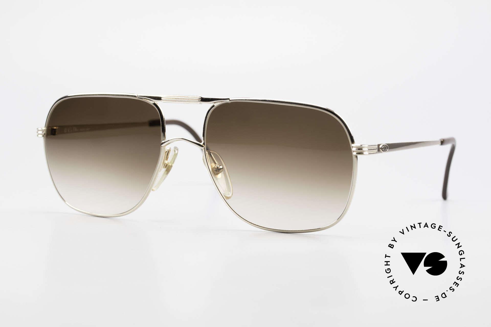 Christian Dior 2443 80's Dior Monsieur Sunglasses, exquisite gents model by Christian Dior 'MONSIEUR', Made for Men