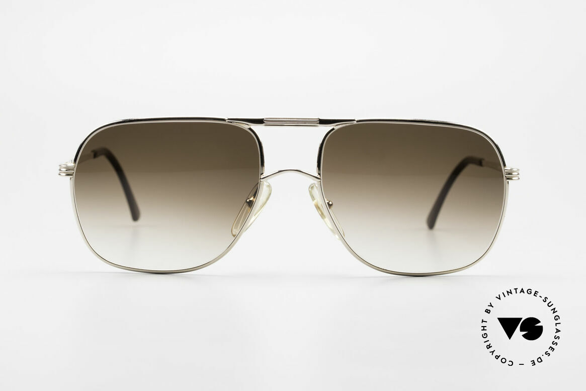Christian Dior 2443 80's Dior Monsieur Sunglasses, luxurious designer piece with brown gradient lenses, Made for Men