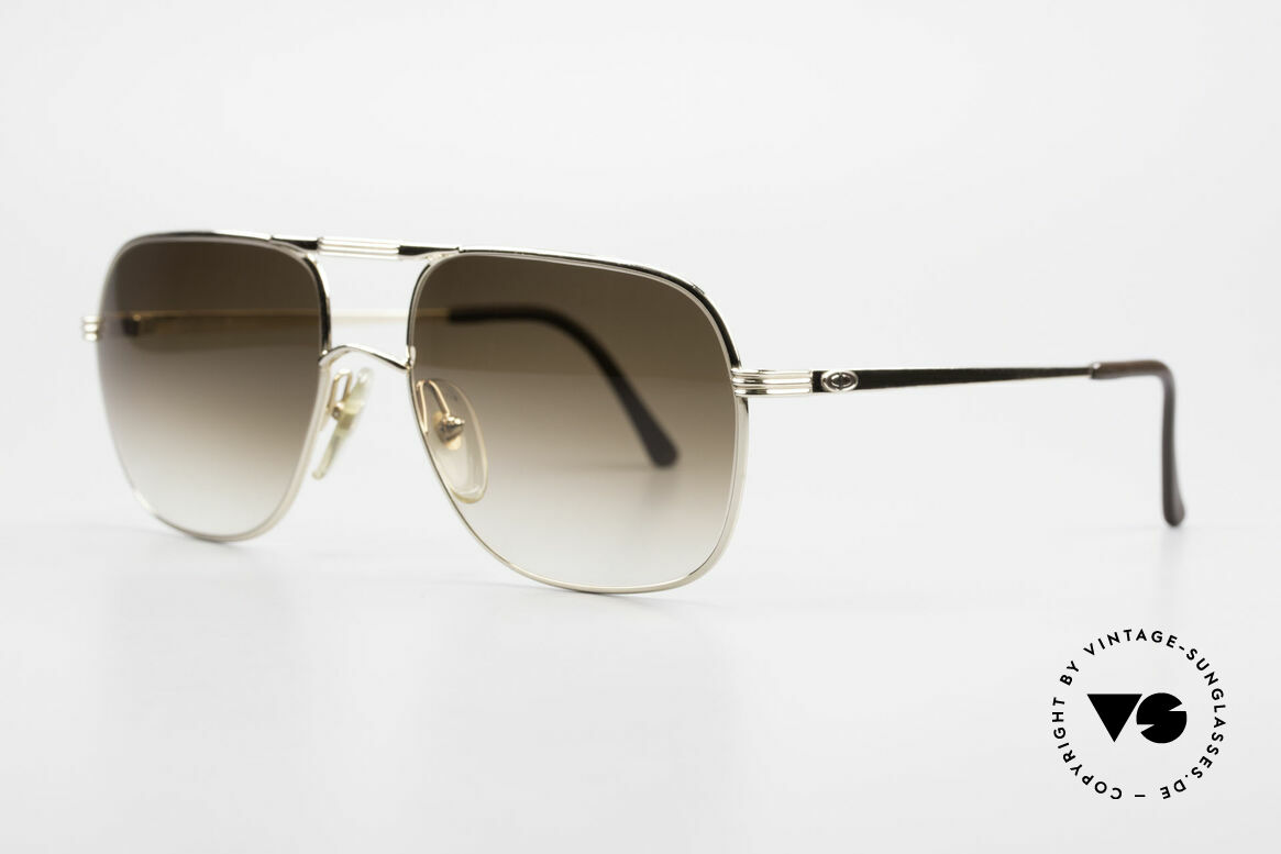 Christian Dior 2443 80's Dior Monsieur Sunglasses, very noble frame (gold-plated), TOP-NOTCH quality, Made for Men