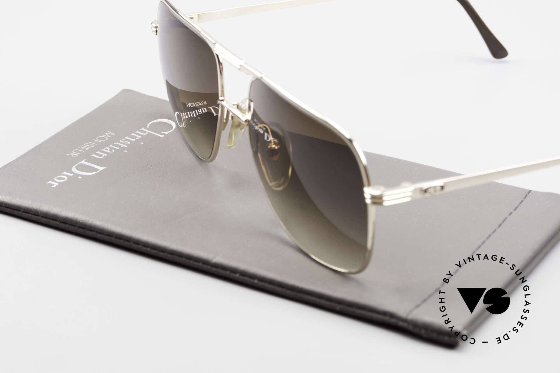 Christian Dior 2443 80's Dior Monsieur Sunglasses, Size: large, Made for Men