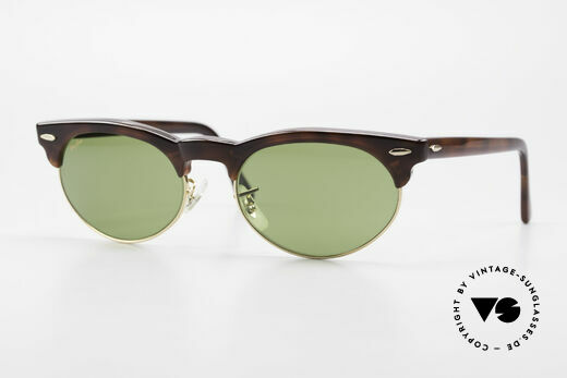Ray Ban Oval Max Bausch & Lomb Original 80's Details