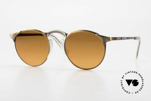 Jean Paul Gaultier 57-0174 90's JPG Panto Sunglasses Details